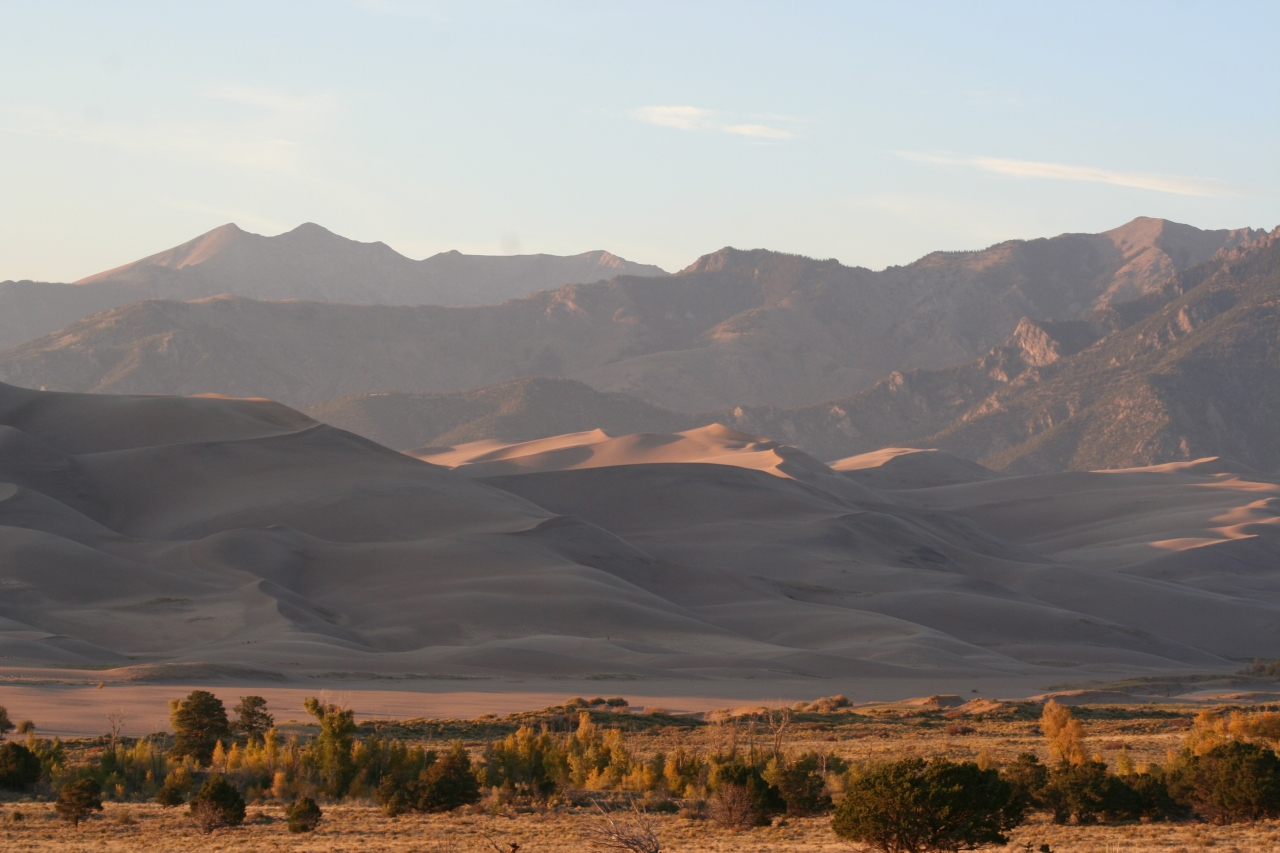 The Great Sand Dunes Park & Preserve