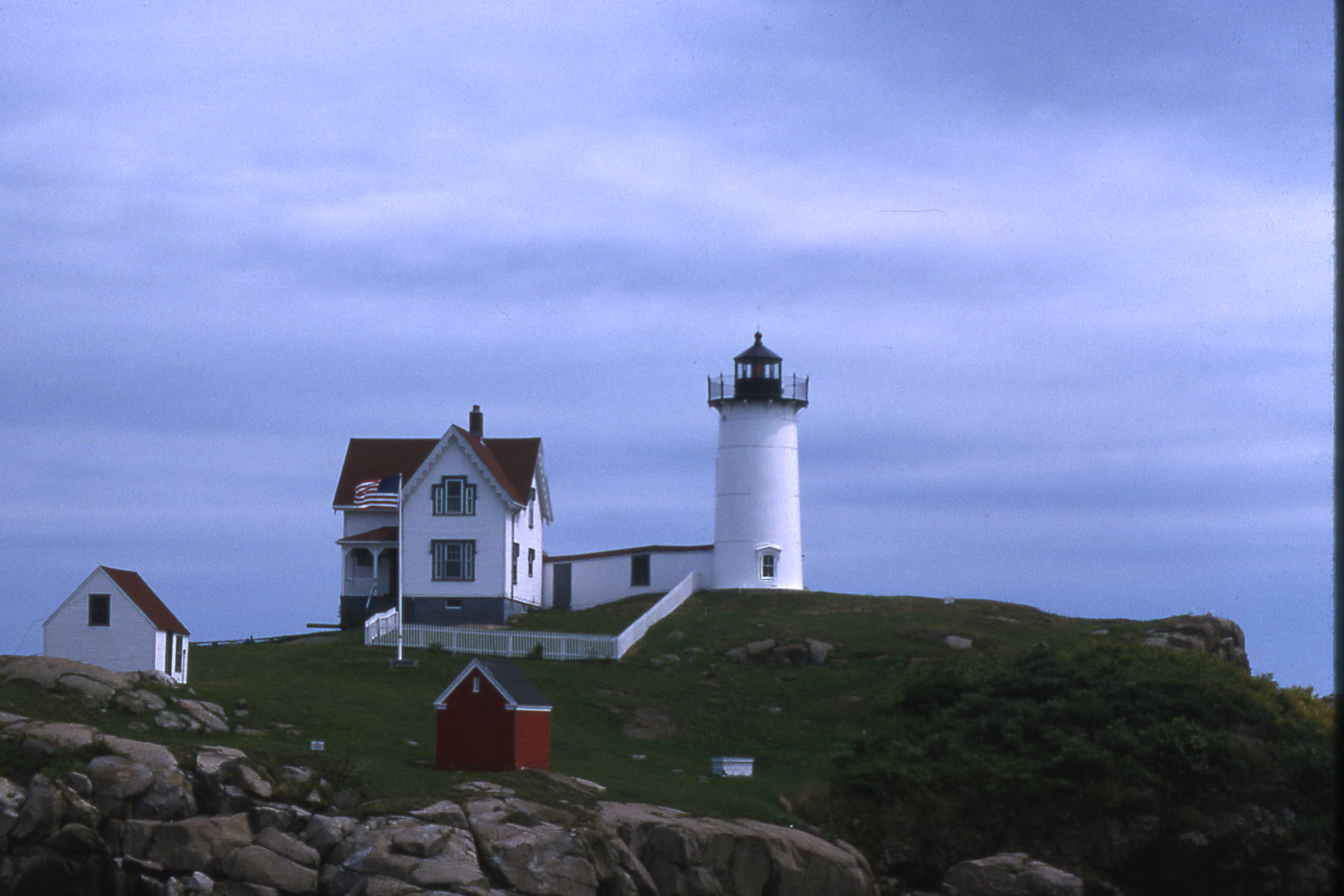 A Lighthouse in Maine